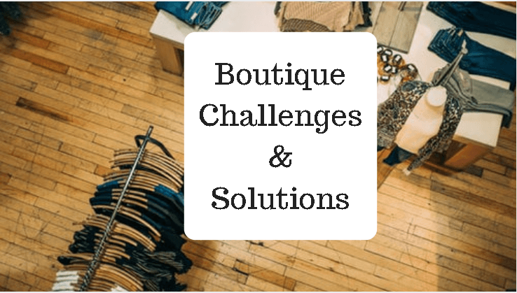 boutique Problems