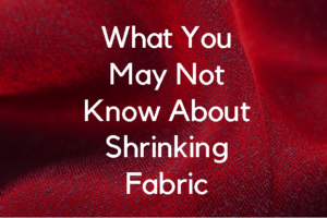fabric shrinkage