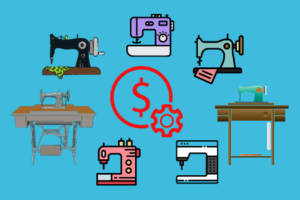 Types of Sewing Machine, Stitching Mall