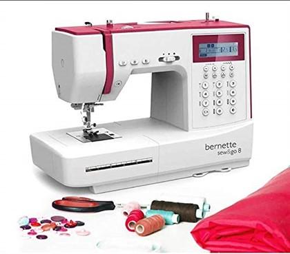 Bernette Sew & Go 8-197 Stitch Designs Computerised Sewing Machine