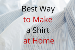 How to Make Shirt