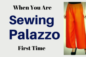 How to Make a Palazzo