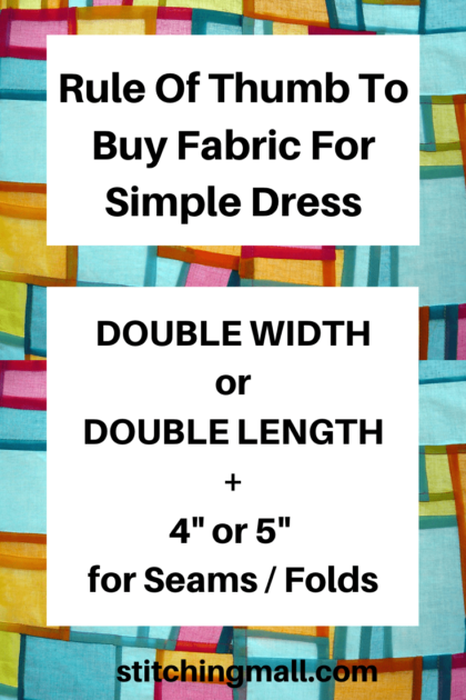 How to Know Fabric Requirement for Your Dress
