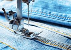denim jeans sewing machine