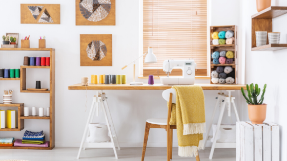 15 Best Sewing Room Ideas With Tips, Best Floor Lamp For Sewing Room