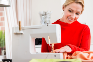 sewing tips for correct posture